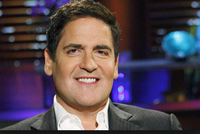 Mark Cuban has decided to hang around for the three-day conference despite missing a Dallas Mavericks game.
