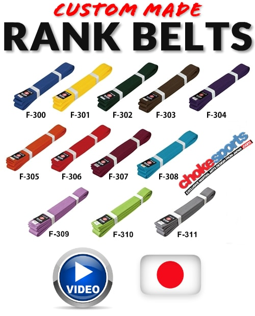ChokeSports Isami Color Rank Belts