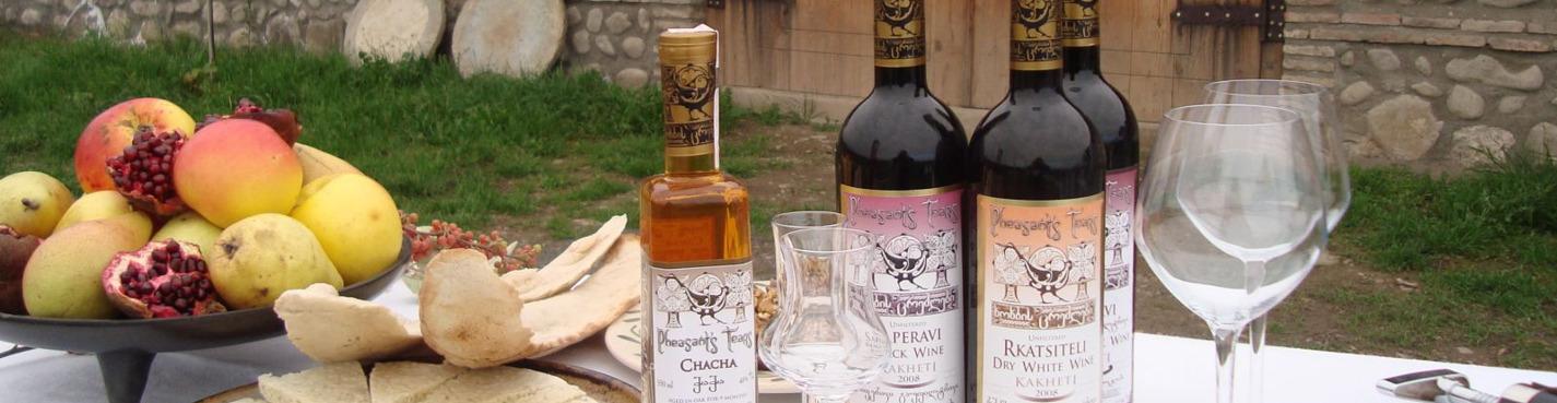 Дегустации грузинских вин