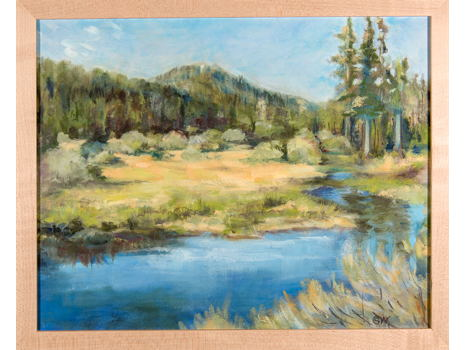 "Susan Welch - Artist ""South Upper Truckee"" original painting"