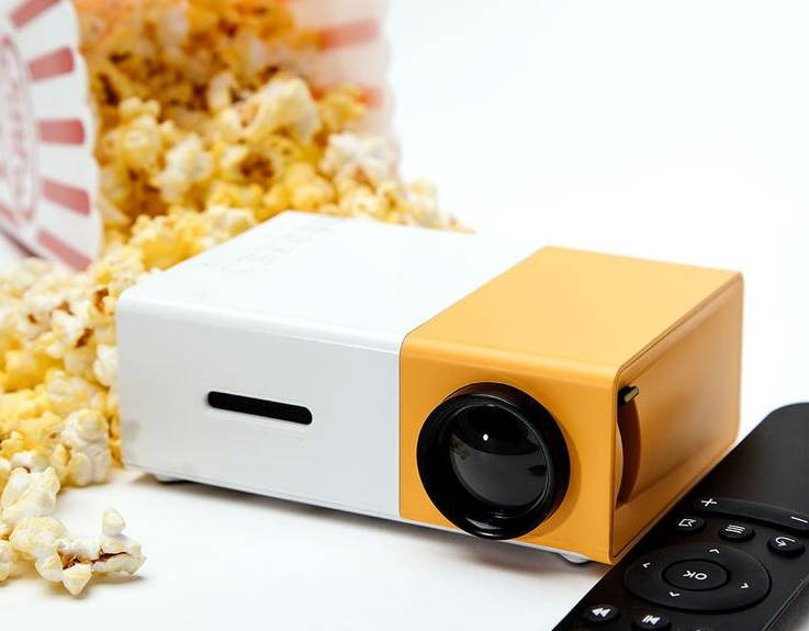 mini led projector for an amazing experience with family or friends