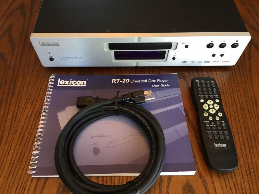 Lexicon RT-20 Universal CD/DVD/DVDA/SACD Player
