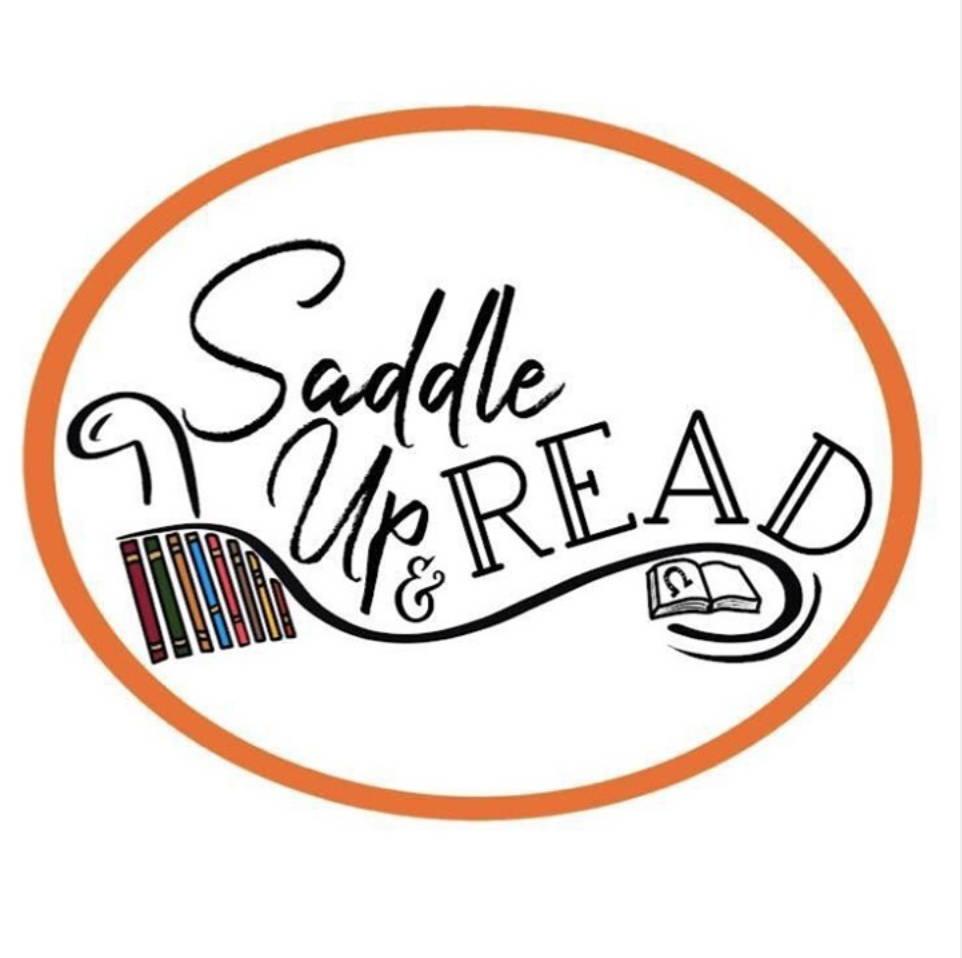 Saddle Up & Read logo