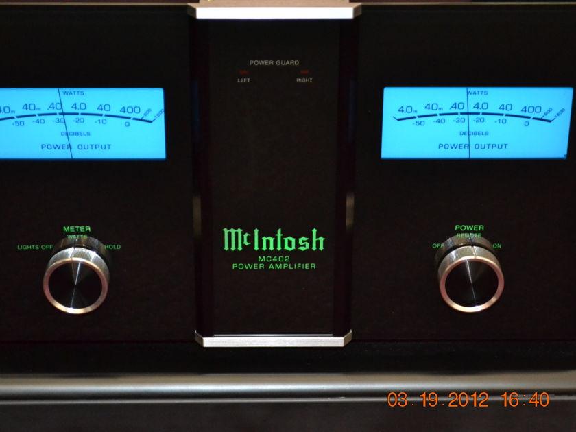 Mcintosh MC-402 Stereo Power Amp.  Free shipping!!!!