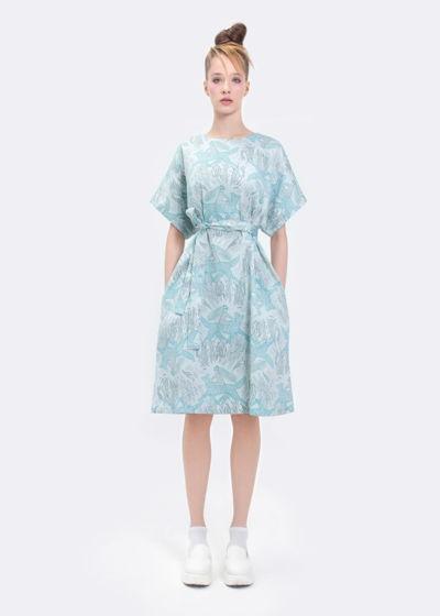 """Платье """"Синяя лиса"""""""