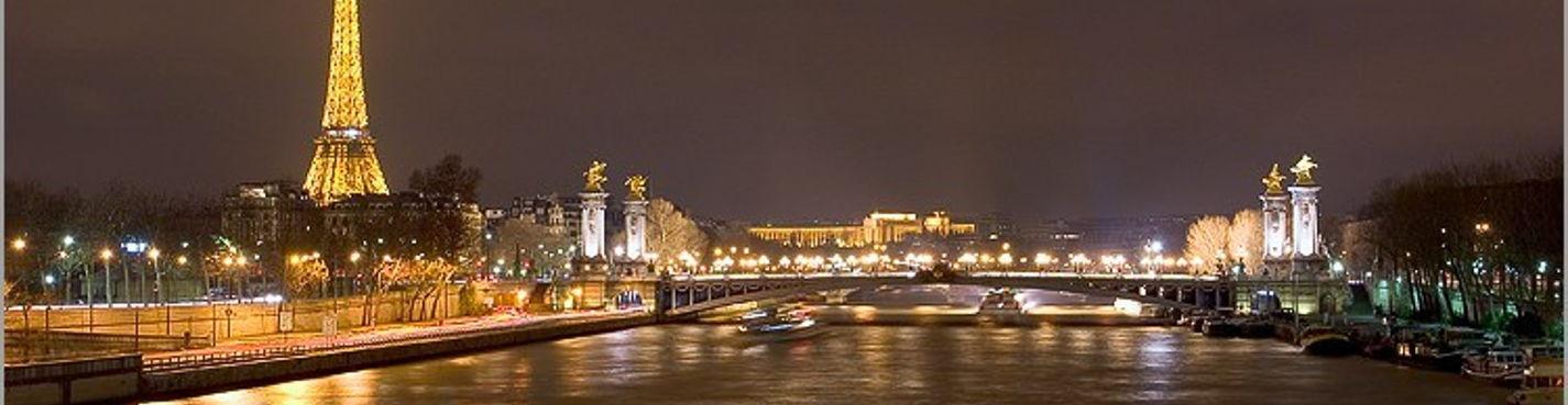 Вечерняя обзорная экскурсия по Парижа (на автомобиле с водителем в сопровождении гида)