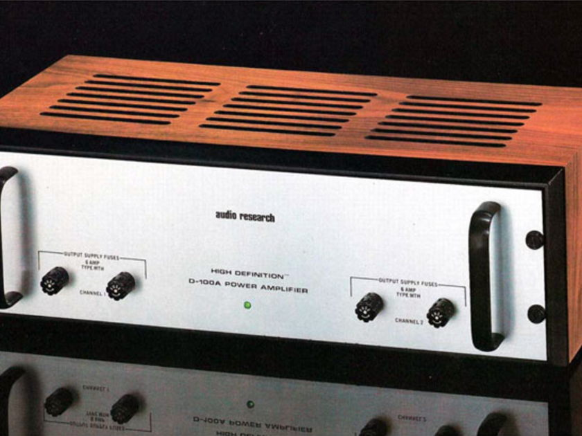 Wanted: Home Audio and Stereo (Working and As-is) Audio Research Mcintosh Sonic Frontiers VTL VAC Accuphase Threshold BAT Krell Modern and Vintage
