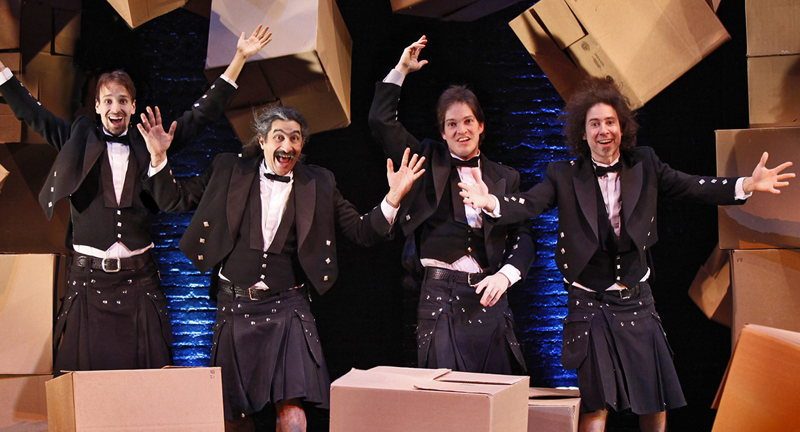 Paramount Presents: The Flying Karamazov Brothers – 4Play – Live On Stage!