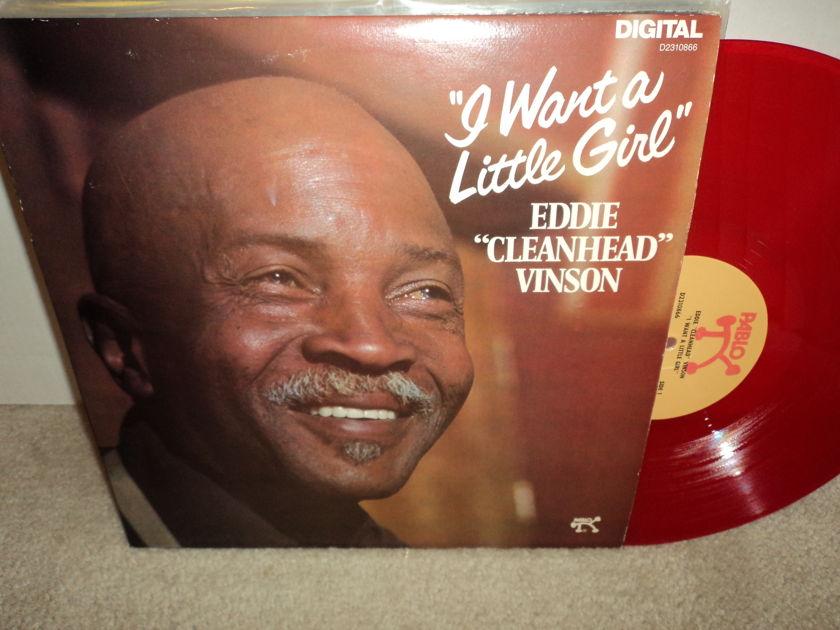 "Eddie ""Cleanhead"" Vinson  - I Want A Little Girl  {RED VINYL} NM"