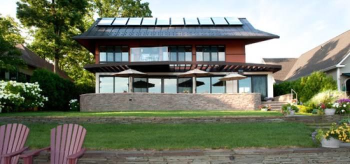 Solar House in Vermont