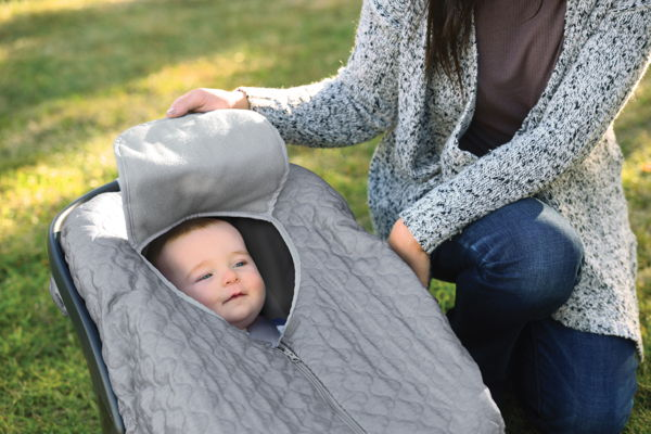 child with carrier covers