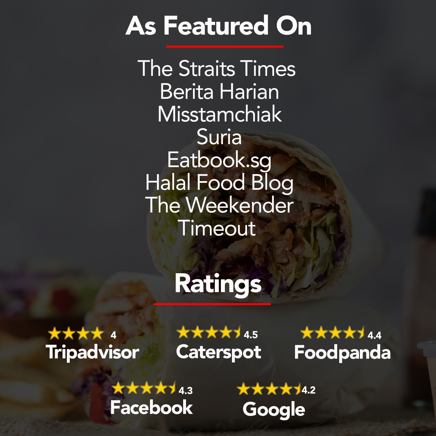 What People Are Saying About Our Kebabs!