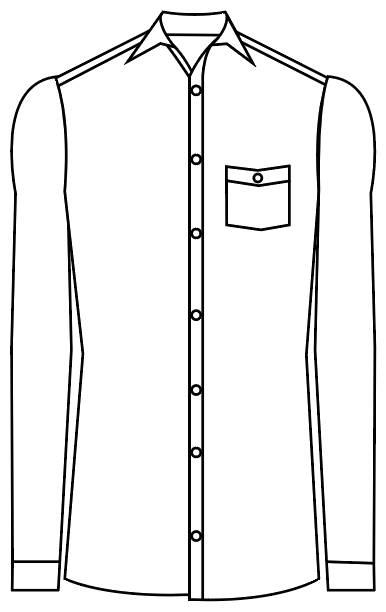 TailorMate | Skjorte med en lomme med knap