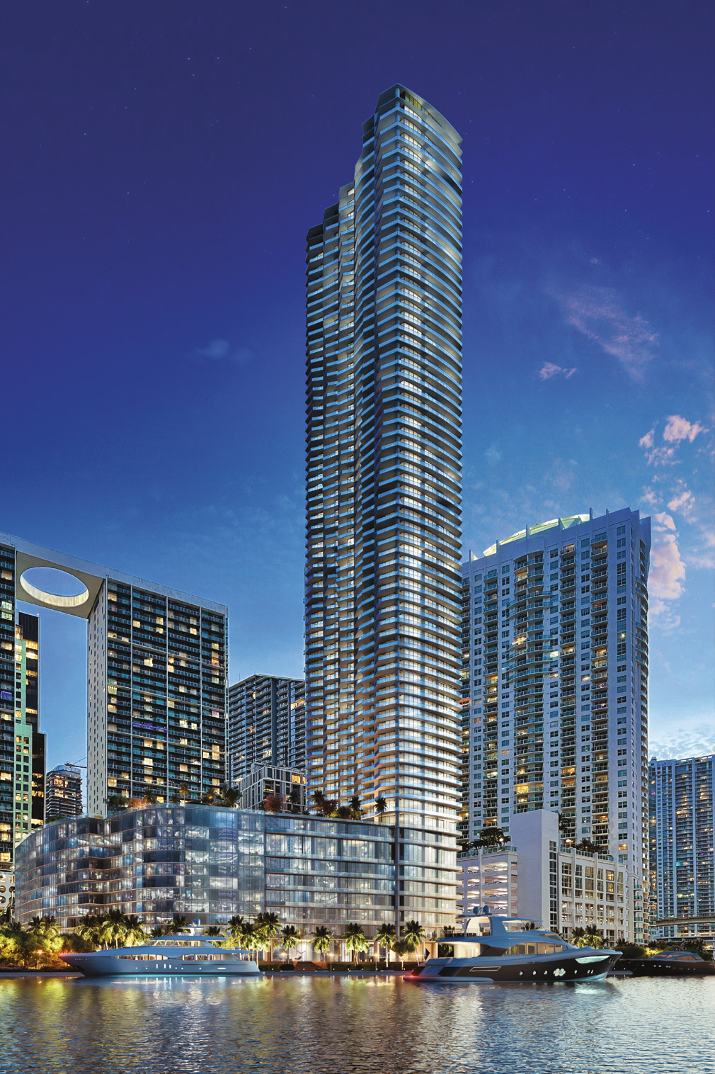 skyview image of Baccarat Residences Miami