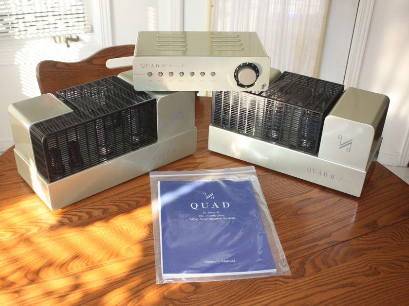 Quad Mk II 40 watt monoblocs