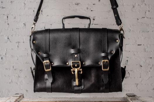 Кожаный портфель tl5