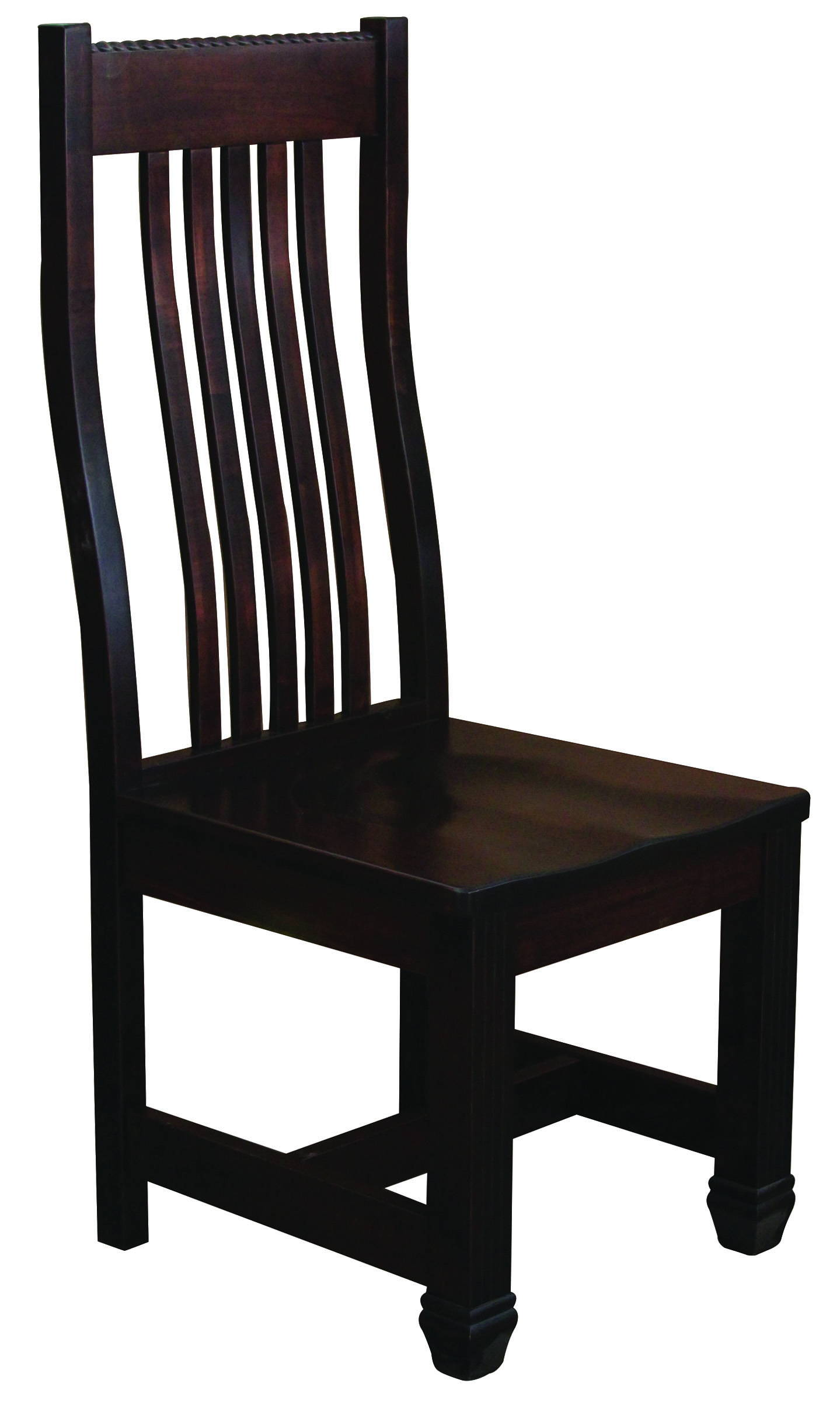 Florentino Solid Wood, Handcrafted Kitchen Chair or DIning Chair from Harvest Home Interiors Amish Furniture