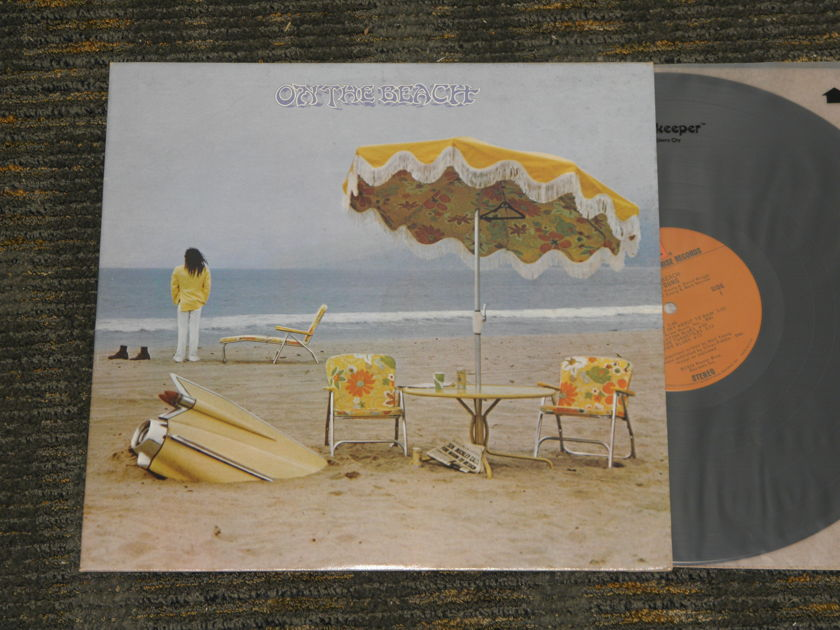 Neil Young - On The Beach    Reprise Orig W/wallpaper inside cover and Reprise 1B/1A matrixes
