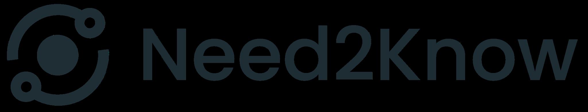 Need2Know logo