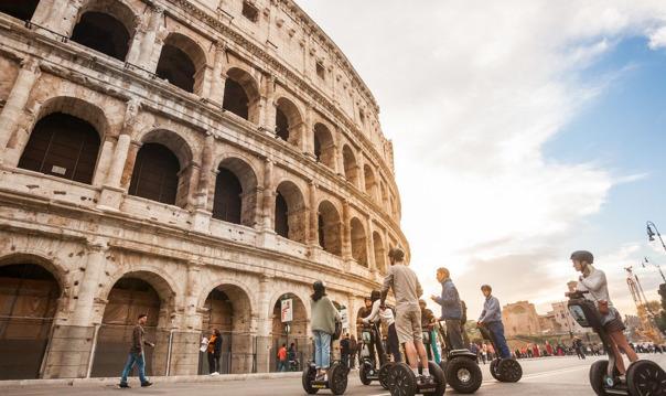Великолепие Рима - Утренний 3х часовой сегвей тур