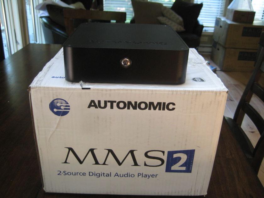 Autonomic Control MMS2 Music Server