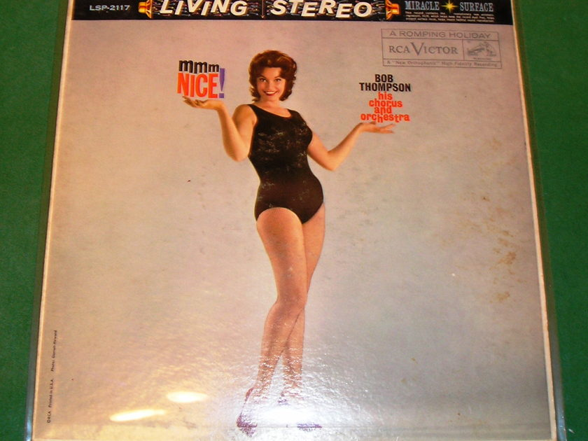 "SEXY - Bob Thompson ""Mmm, NICE"" - CHEESECAKE COVER - RCA LIVING STEREO LSP-2117 ** NM 9/10 **"