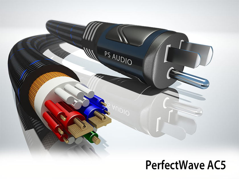 PS Audio AC-5 Power Cable 1.5 Meters