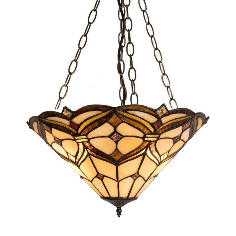 tiffany lamps inverted ceiling light  link