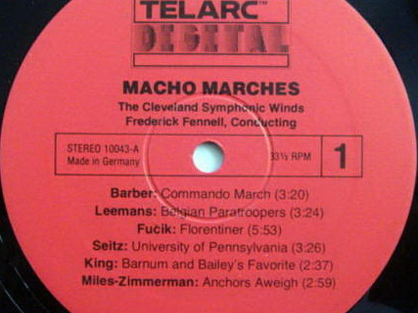 ★Audiophile★ Telarc / FENNELL, - Macho Marches, MINT!