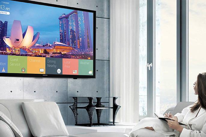"Samsung HG32NJ470NFXZA 32"" Hotel hospitality TV 470 Series LYNK REACH 4.0 Content Management Solution"