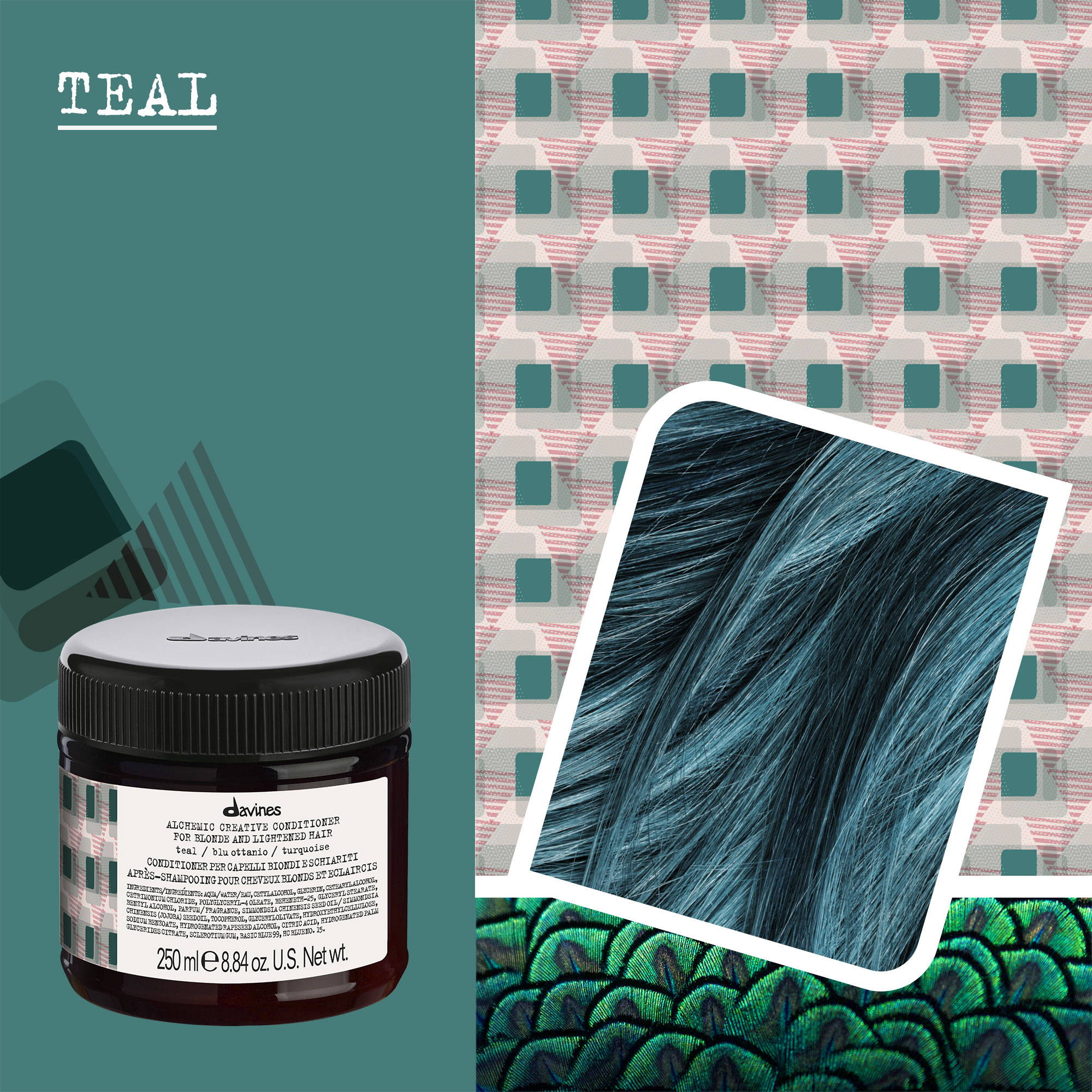 Teal Alchemic Creative Conditioner