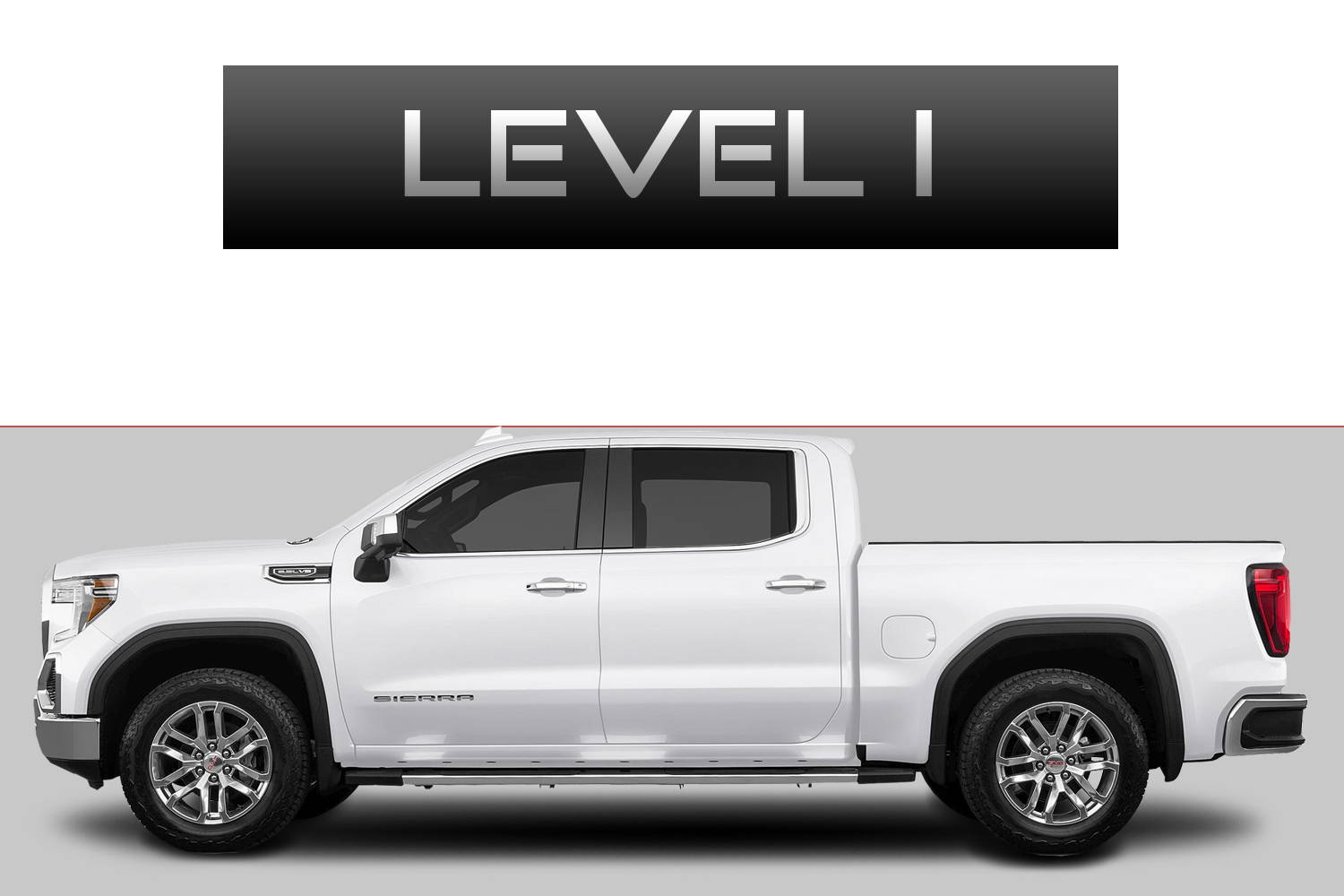 GMC Sierra 1500 Off-Road Customizing Package Level 1 by 3C Trucks