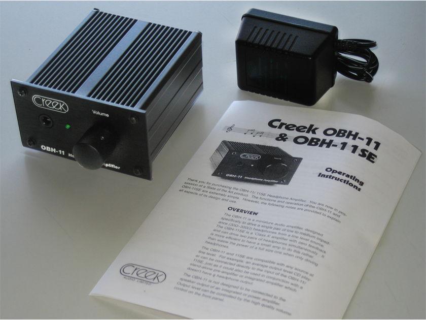 Creek OBH-11 Headphone Amp