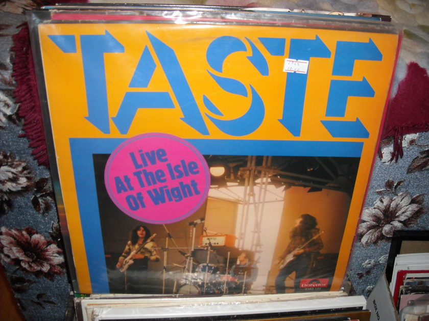 Taste - Live At The Isle Of Wight Polydor LP (c)
