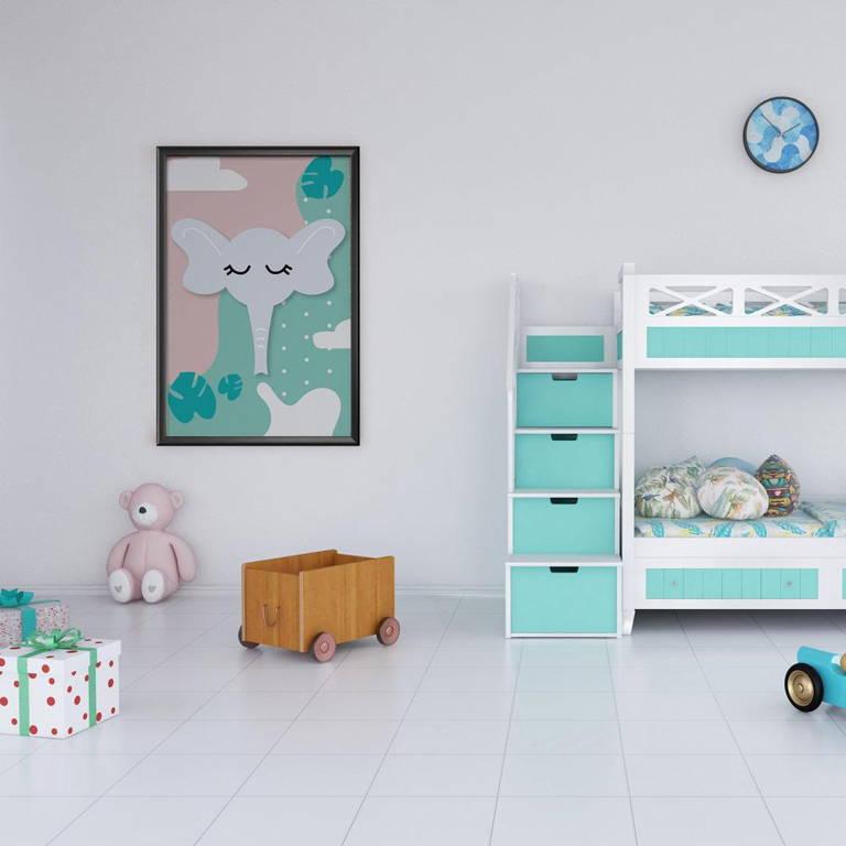 Kinderkamer wanddecoratie