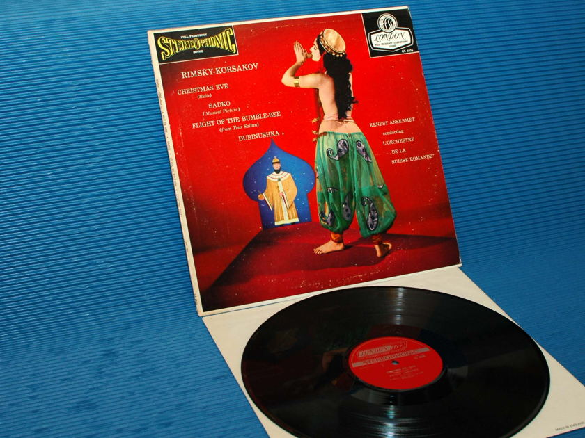 """RIMSKY-KORSAKOV/Ansermet - - """"CHRISTMAS EVE SUITE"""" -  London 1961early pressing"""