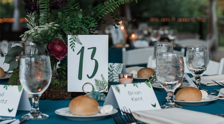 Inspiration Guide: Table Numbers