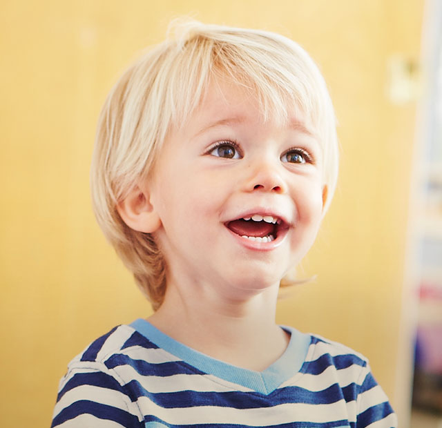 Young Toddler Smiling