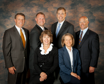 Group photo From left to right - Todd Gescher, Jason Herber, Deb Parosa, Steve Altman, Becky Engeln and Brett Davis