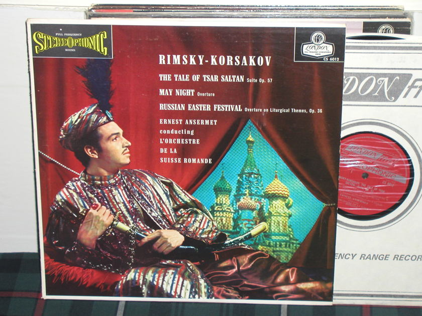 Ansermet/L'OdlSR - Rimsky-Korsakov The Tale Of The Tsar Saltan London UK/Decca LP