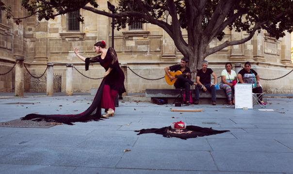 Шоу-фламенко «Искусство фламенко» в Las Arenas