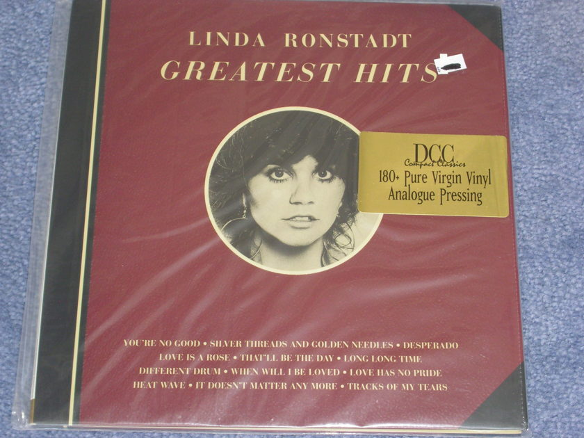 DCC Linda Ronstadt - GREATEST HITS -- DCC Factory Sealed LP