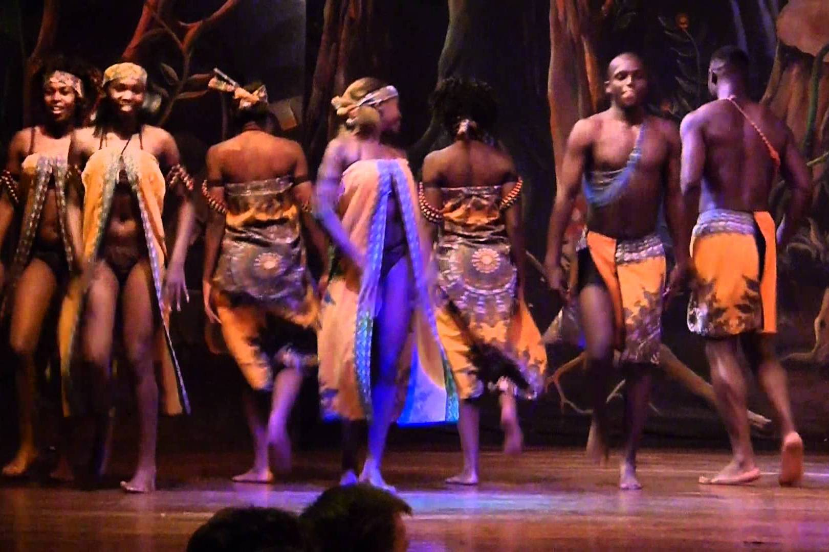 cat dancers and a delicious game bbq dinner activity in nairobi
