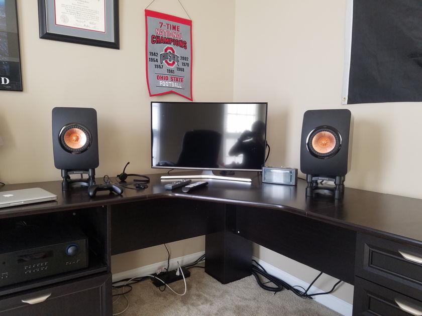 KEF LS50 Monitors
