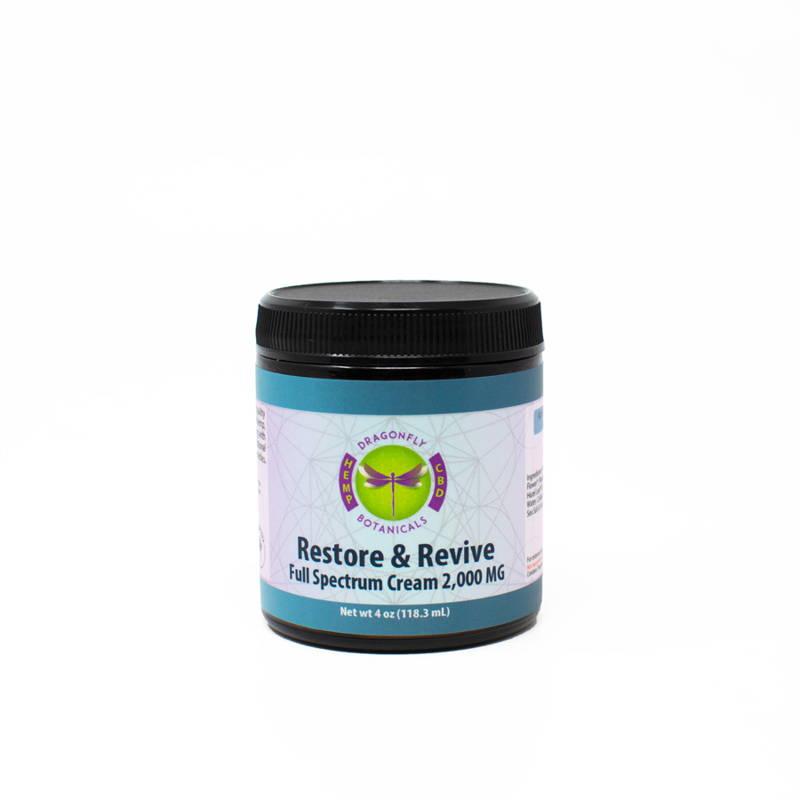 Full Spectrum CBD Restore & Revive Skin Calming Cream