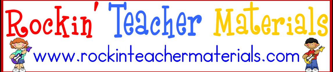 Rockin' Teacher Materials - Hilary Lewis