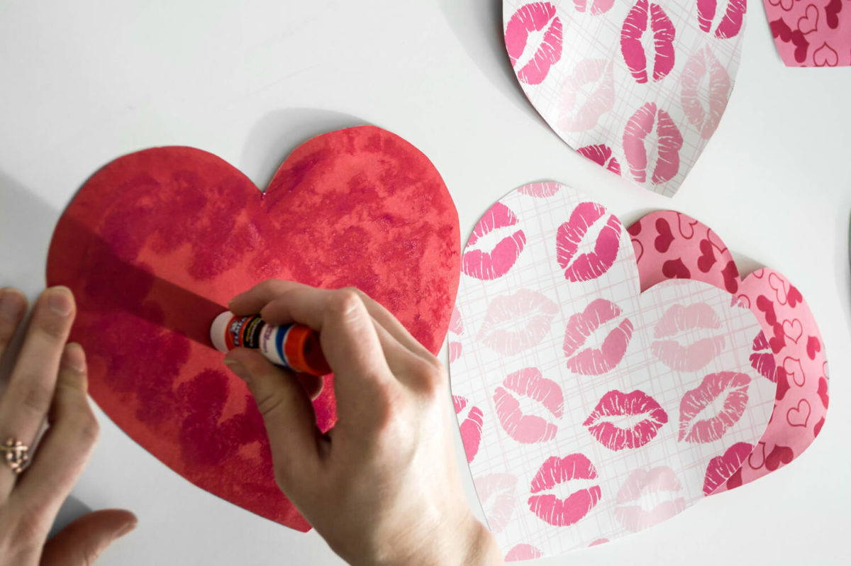 easy DIY valentine's Day Cards