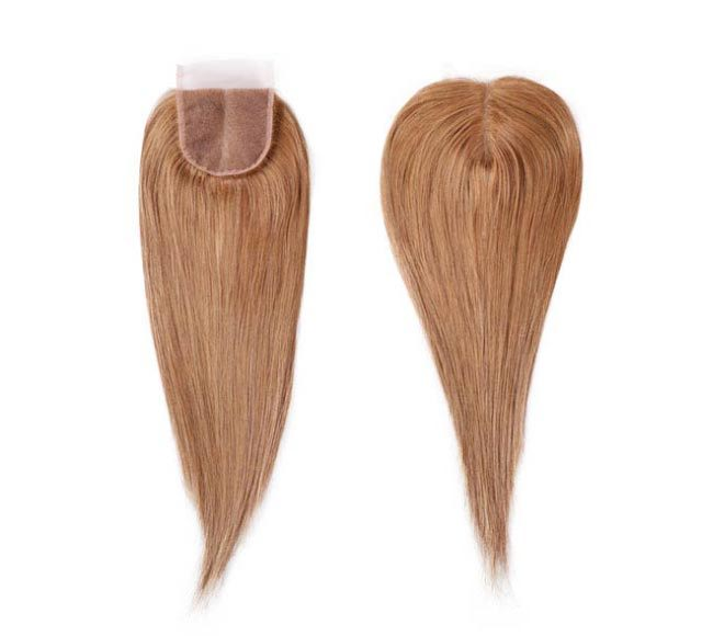 Straight Dark Blonde Closure Mayvenn