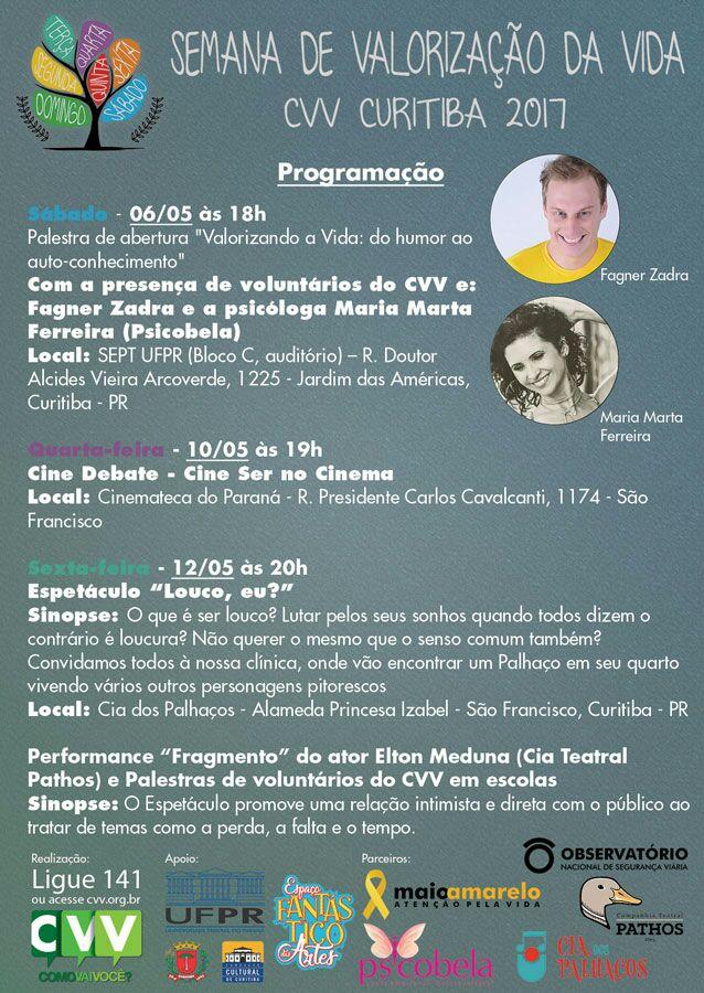 Semana de Valorização da Vida - CVV Curitiba