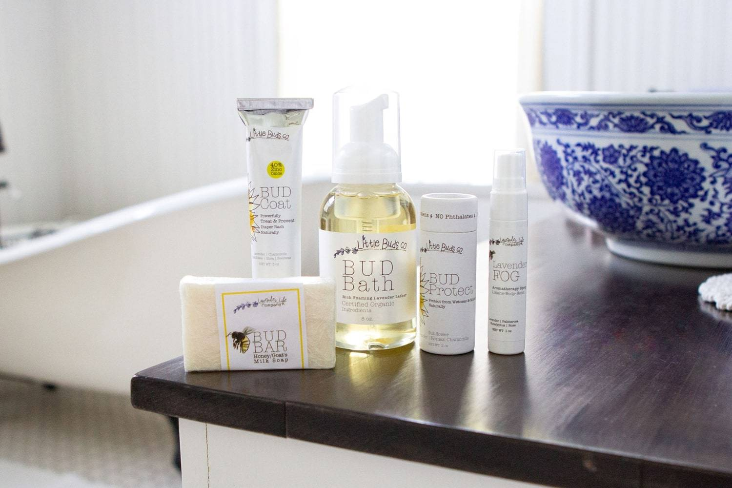 Organic Lavender Skin Care products for Babies - Lavender-Life.com